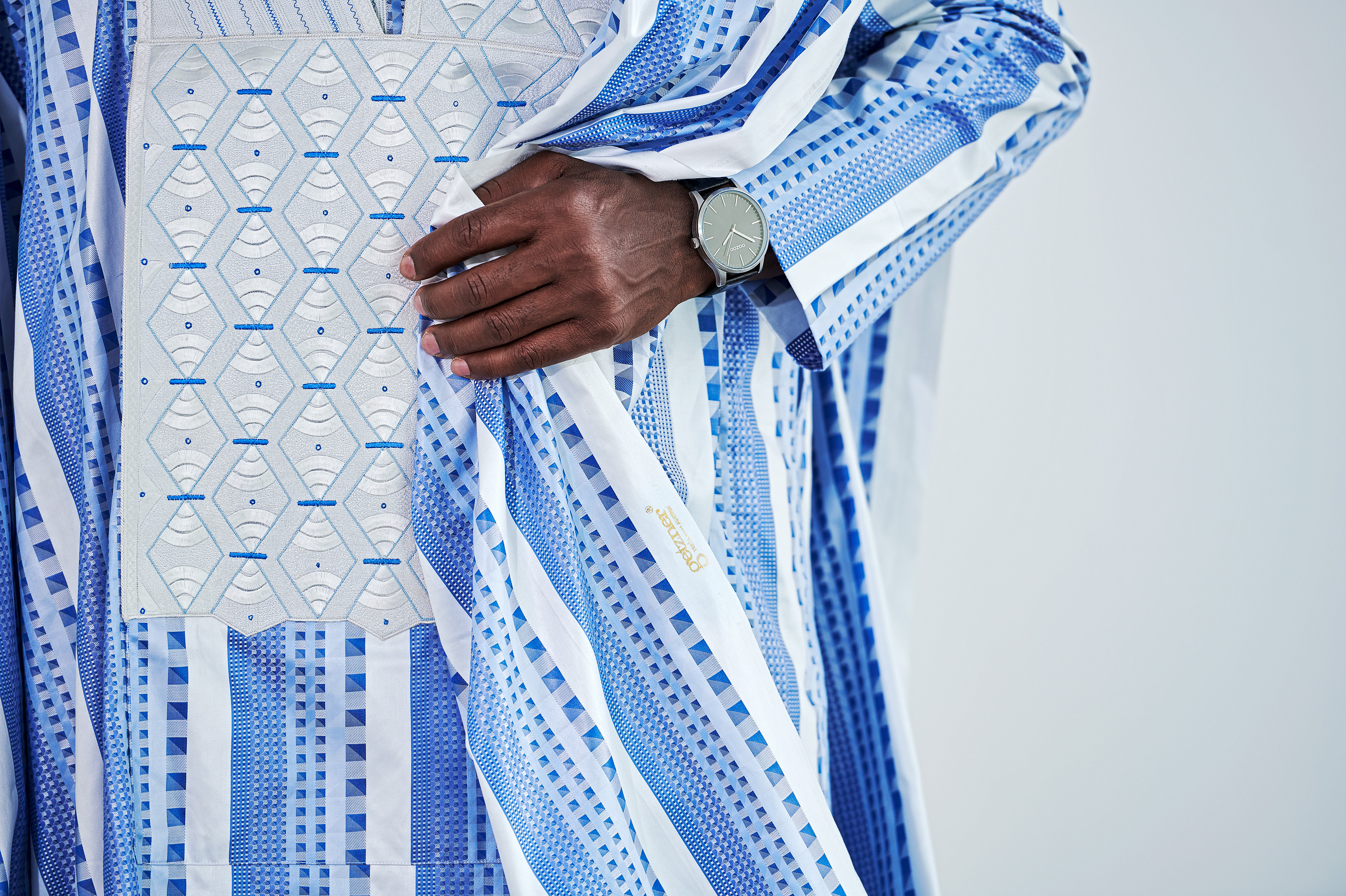 Blue Grand BouBou with clock